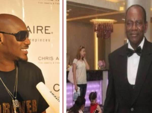 Breaking News: 2face Idibia loses Father To Death
