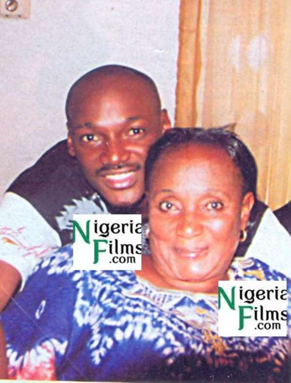 EXCLUSIVE PICTURE: 2Face Steps Out With Mum