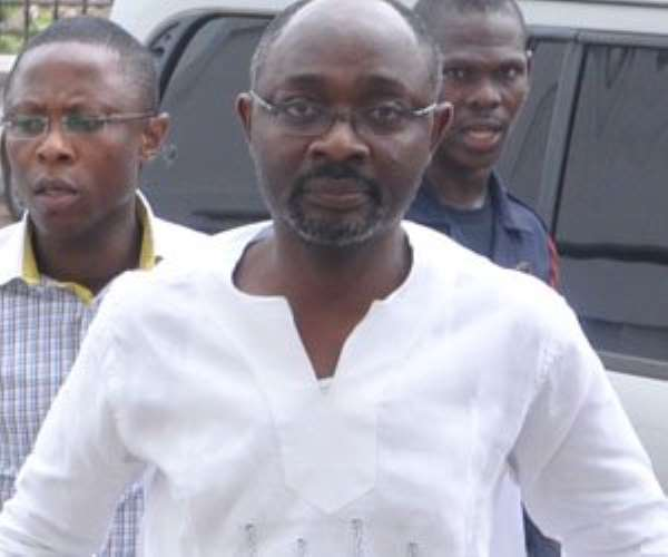 Alfred Woyome to spend Monday night in cells