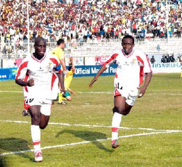 Black Stars Cautioned