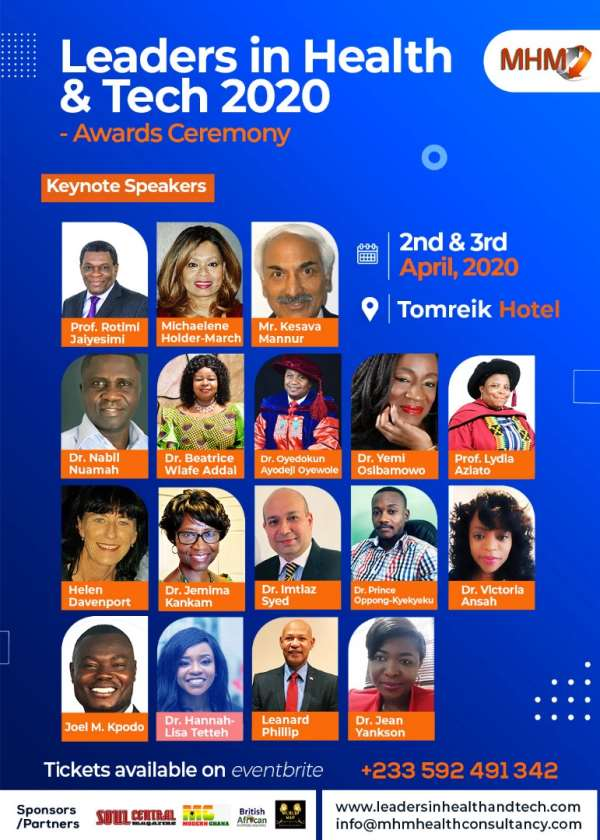 Special Announcement: Leaders In Health And Tech 2020 Summit-Awards Ceremony