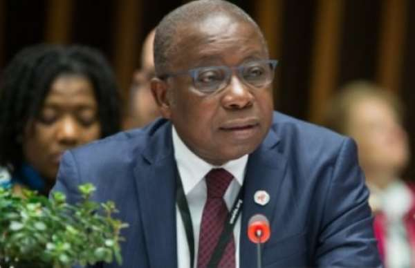 Health Minister of Ghana, Hon. Kwaku Agyemang-Manu