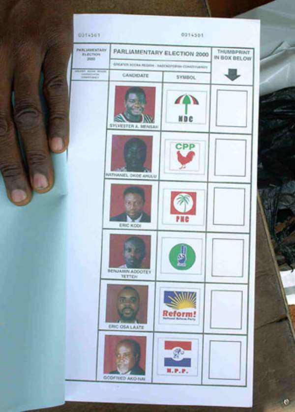 NPP Agents Caught Printing ballot papers