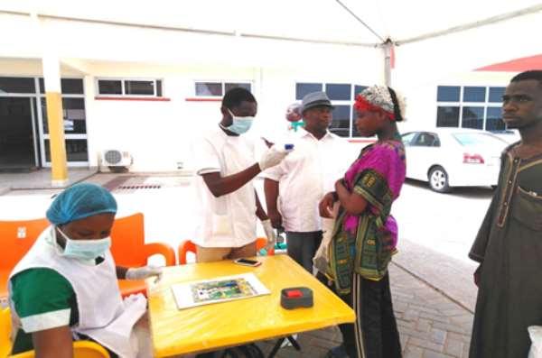 Coronavirus: Manhyia Suspected Case Tests Negative