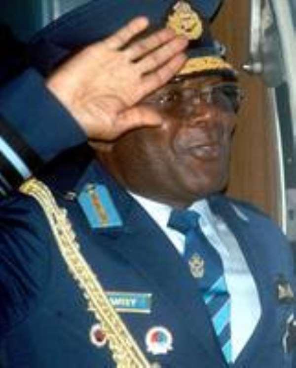 GAF boss offers Ghana's help in war on terror