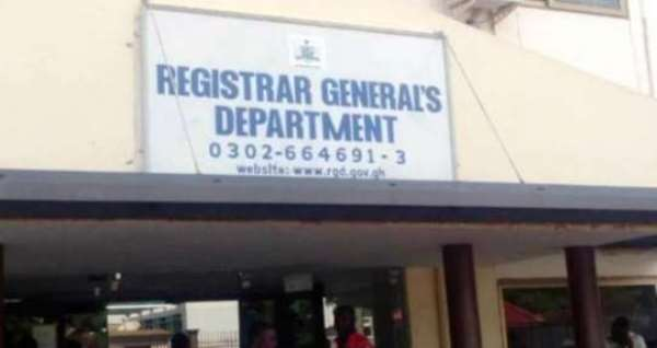 Coronavirus: Registrar-General Fix Hand Sanitisers, Other Measures To Prevent Spread