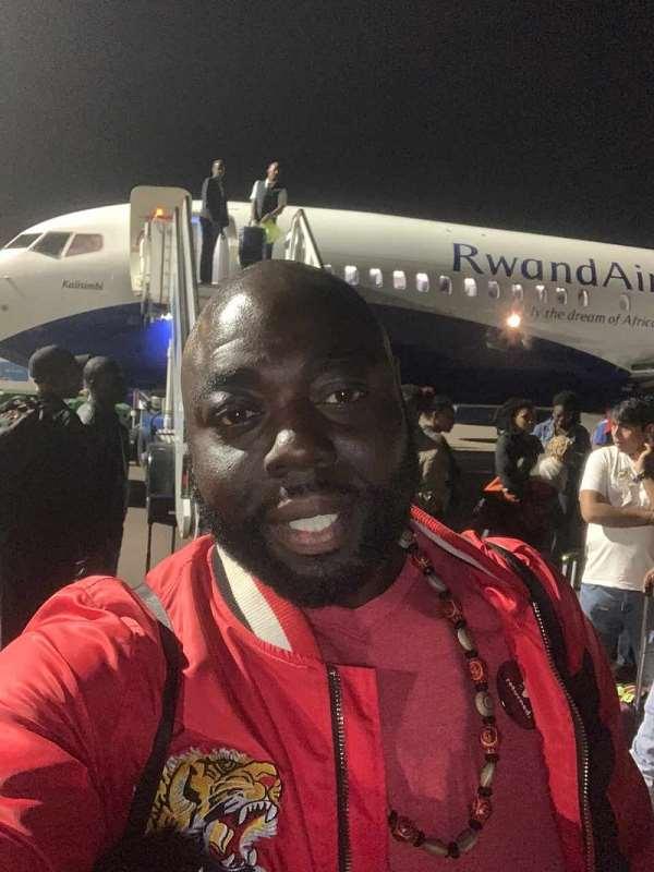 Rashad Traveling From Ghana to Rwanda January 2020