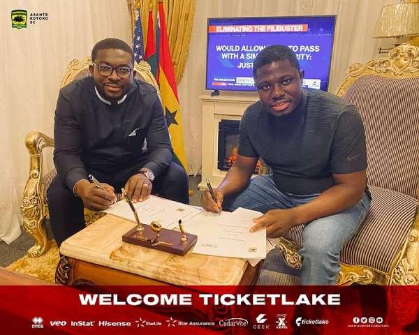 OFFICIAL: Asante Kotoko seal sponsorship deal with Ticketlake