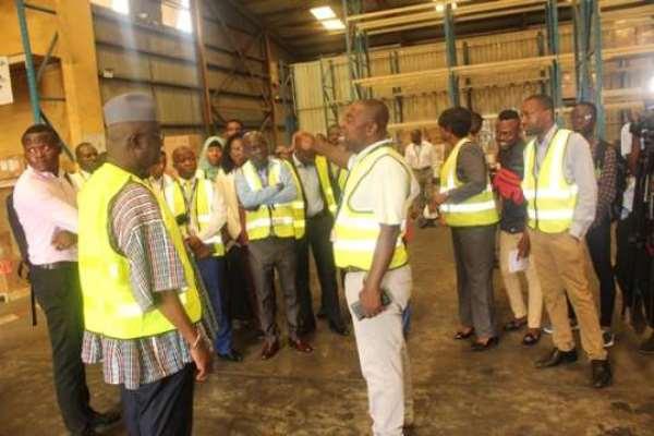 Coronavirus: Minister Commends KIA Staff For Preventive Measure