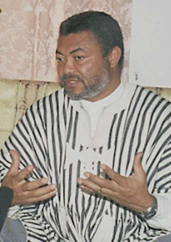 Can The NPP Really Arrest Rawlings