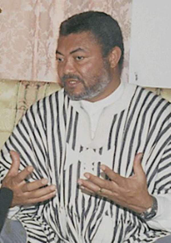 Rawlings' office downplays Baah's resignation