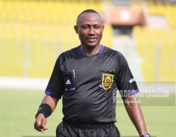 Kotoko defender Ahmed Adams disappointed in referee Sukah's decision but thinks he can be forgiven