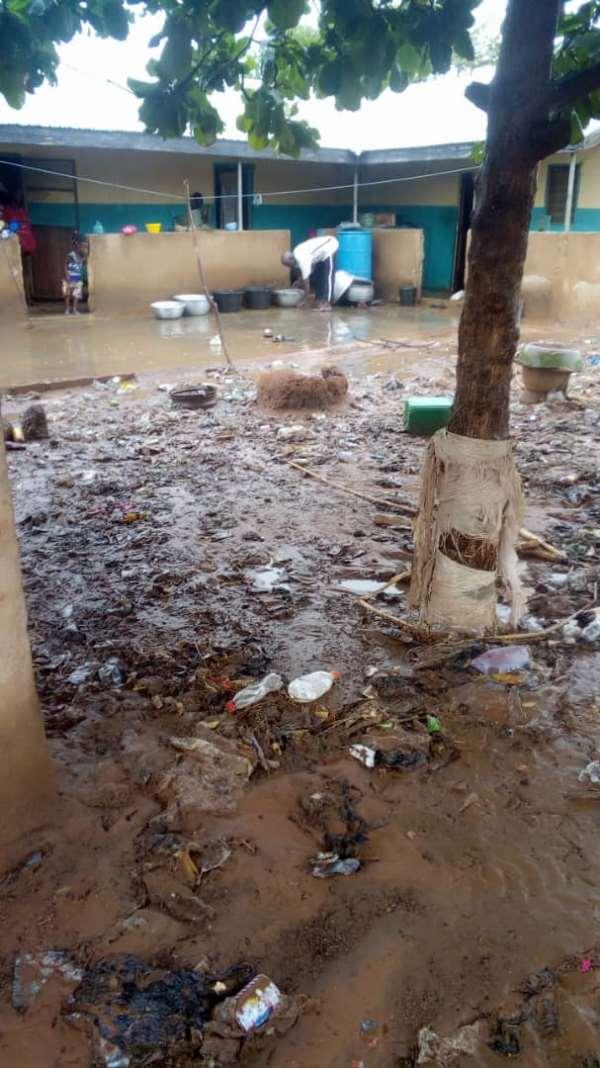 Damongo: Heavy Downpour Ravages Parts Of Abingakura