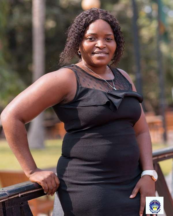 Madam Joyce Asumah, the PUSAG Women's Commissioner