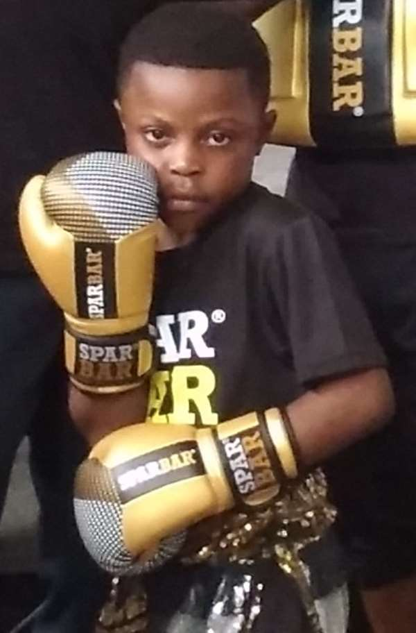 Prince 'The Buzz' Larbie targets 2032 Olympic Games