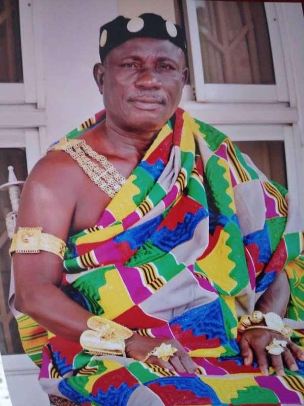 Chief of Kwahu Kotoso, Nana Kwakye Owusu II