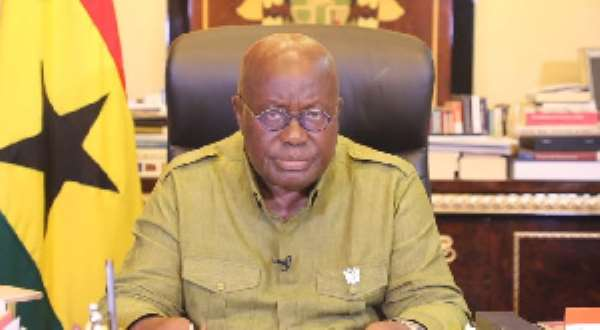 Akufo-Addo Declares Fasting And Prayers Nationwide To Drive Out COVID-19