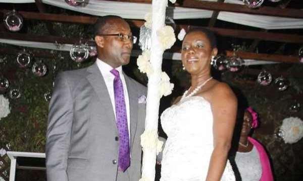 Ursula Owusu-Ekuful and Sam Ekufful