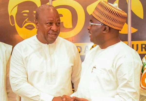 EPPI Survey: Bawumia 3 points ahead of Alan; NDC voters want Mahama to back a new candidate for election 2024