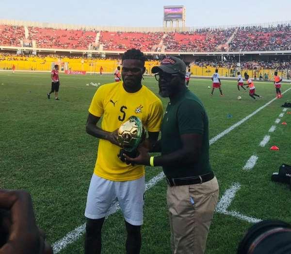Thomas Partey Receives Africa Best XI Accolade