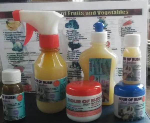 Use Locally-Made Hand Sanitizers — Ghanaians Told