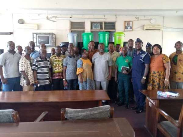 Coronavirus: New Juaben South Inaugurates Response Team