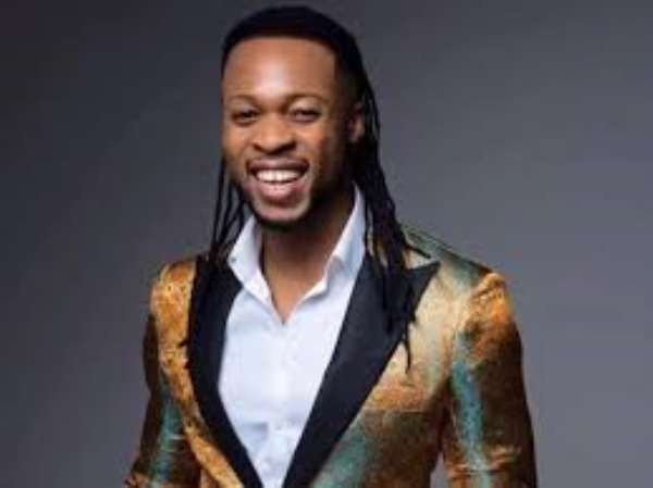 Nigerian Singer Flavour Opens School For The Blind In Liberia