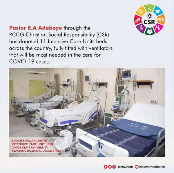 Nigeria: RCCG Supports Coronavirus Fight