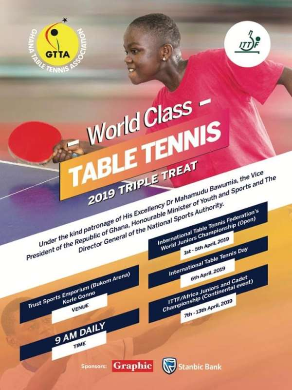 Ghana Table Tennis President Promises To Deliver Outstanding Tournament In Ghana