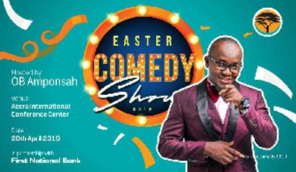 Annual Easter Comedy Show Kicks Off April 20th