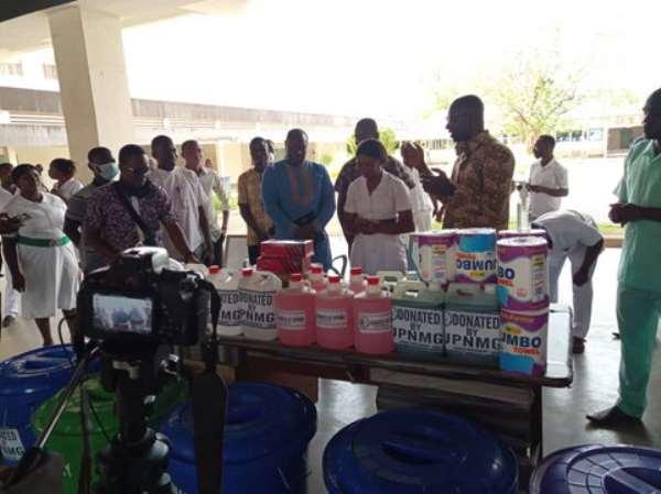 Coronavirus: UPNMG Donates Items To KATH, Two Other Hospitals