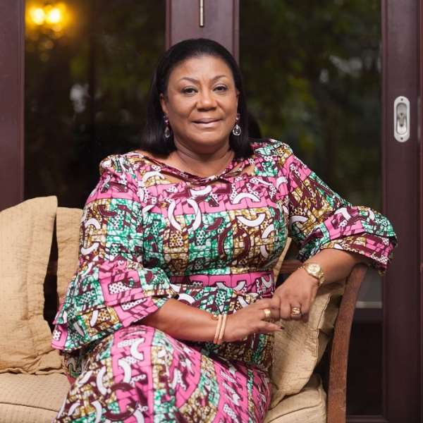 Social Media comes alive as first lady Rebecca Akufo Addo dedicates Gyakie' s 'Forever' song to President Akufo Addo on his 77th birthday