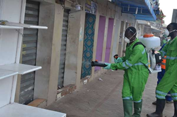 Coronavirus: 325 Markets In North East, Savannah, Upper East And Upper West To Be Disinfected