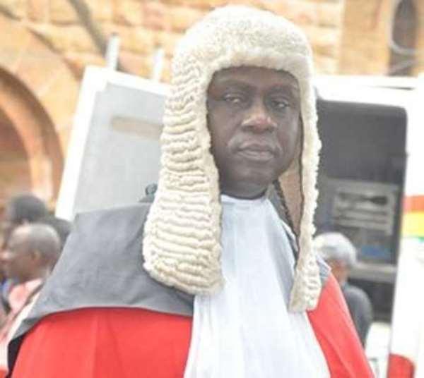 Chief Justice, Kwasi Anin-Yeboah