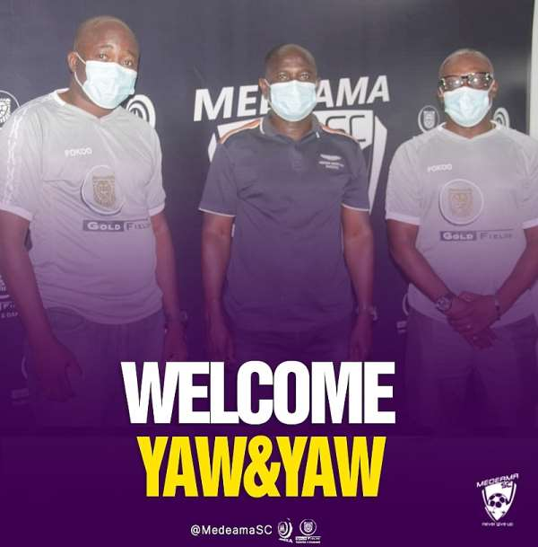 Medeama SC confirms Yaw Preko as new head coach; Yaw Acheampong handed assistant role