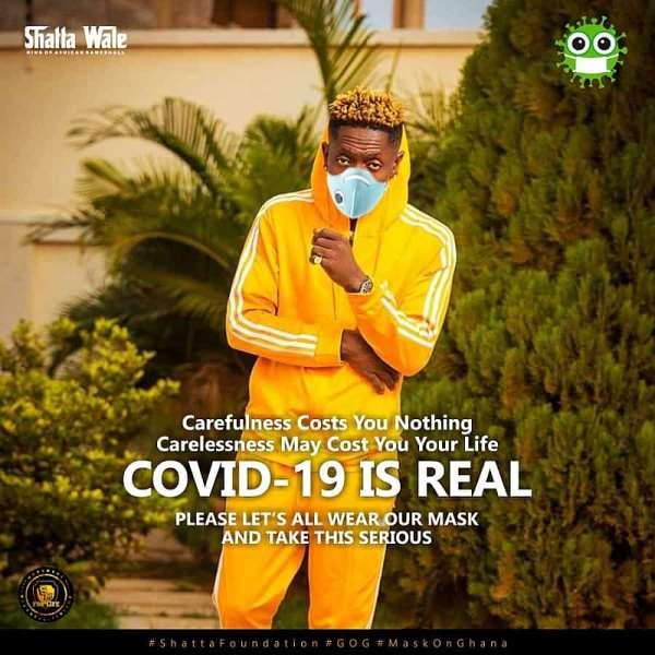 Shatta Wale wants Akufo-Addo to make him Covid-19 vaccination ambassador