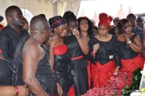 J.B. Danquah Laid To Rest… After State Funeral At State House