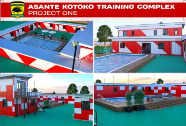 Phase 1 of Adako Jachie Training Complex ready in two weeks - Kotoko CEO confirms