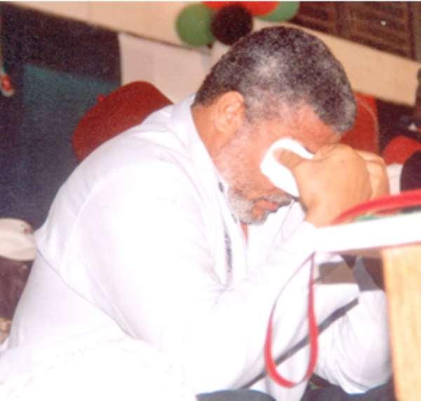 JJ must go to Pantang Hospital -Ex-MP