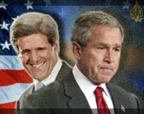 Ghanaians want Kerry  In White House
