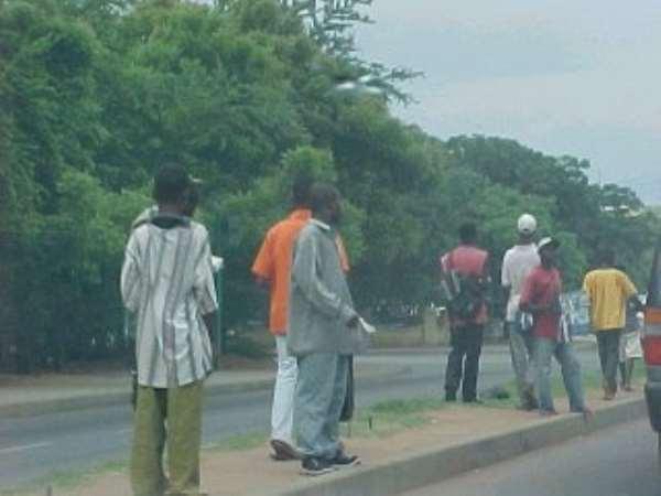 STREET HAWKING - Kufuor's Job-Promise