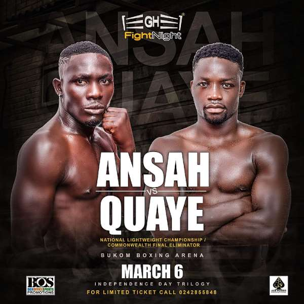 Box Office & Ace Power to stage Independence Day thriller at Bukom Boxing Arena on March 6