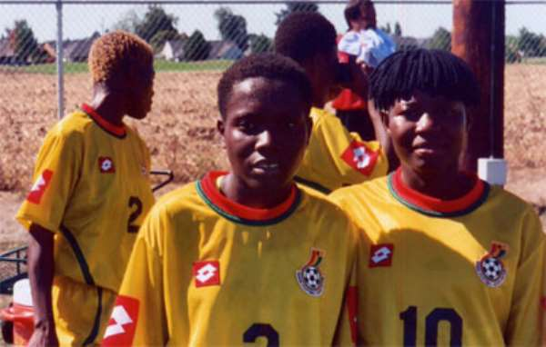 For Ghana women, playing in America has been an eye-opening experience