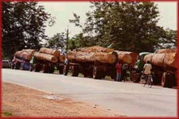 Ghana earns Over €40m from wood products