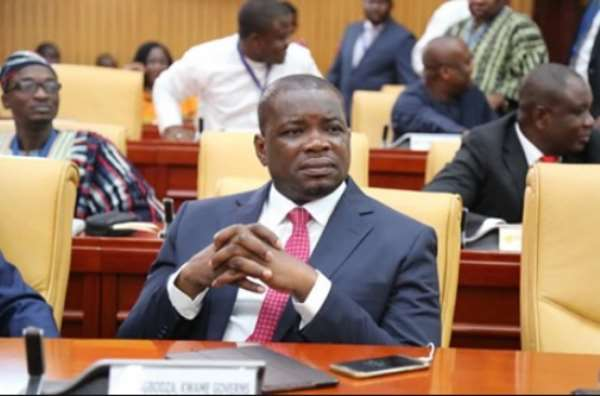 Governs Kwame Agbodza, Member of Parliament for Adaklu