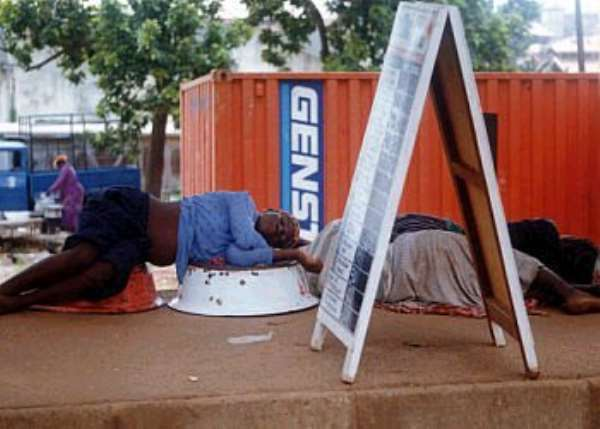 Are Ghanaian workers lazy?