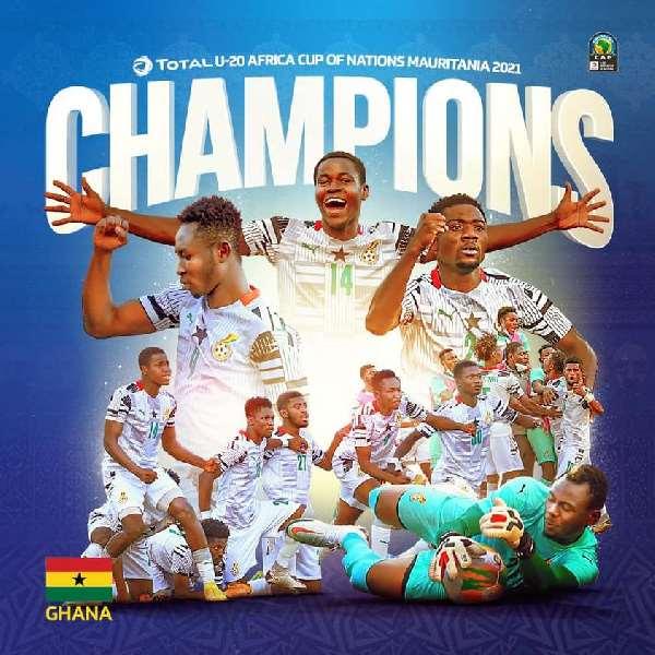 Black Satellites arrive in Ghana after U-20 Afcon victor