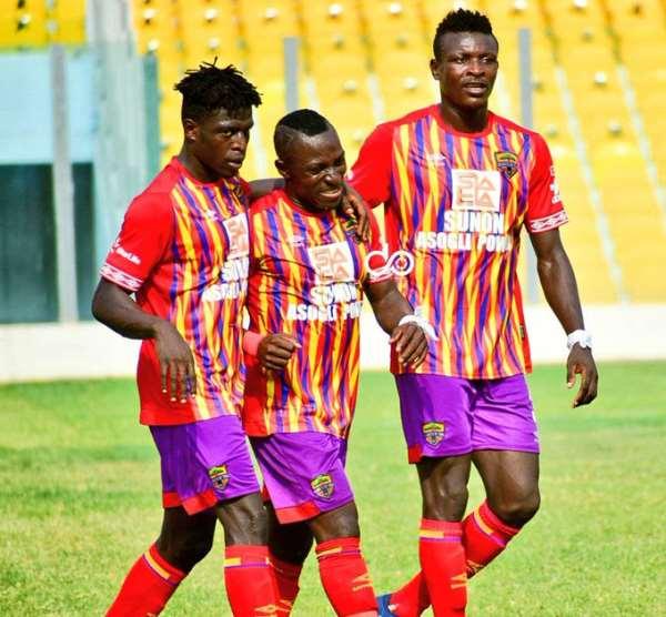 GHPL: Perfect start for coach Samuel Boadu as Hearts of Oak thump WAFA SC 4-0