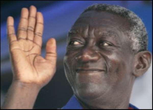 Kufuor Wins Face-of-Good-Governance Award