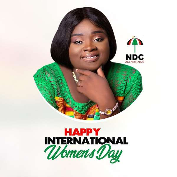 Anyaa Sowutuom NDC Parliamentary Aspirant Wishes Women Well